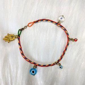 Jewelry - Evil Eye Rope Bracelet